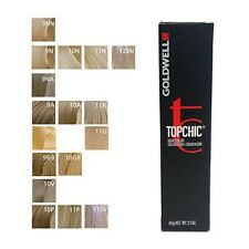 Goldwell Topchic Permanent Hair Color 60ml Tube Shade 10V Pastel Violet Blonde