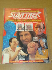 STAR TREK NEXT GENERATION MAKE UP FX JOURNAL VF STARLOG US