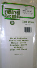 "Evergreen Sheet Styrene 4523 - Metal Roofing 3/8"" Spacing 9.5mm, 040"" Thick 1mm"
