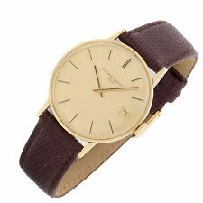 Eterna Matic 3000 Vintage 18k Yellow Gold Swiss made automatic mens fine watch