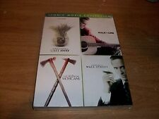 Cast Away/Walk The Line/The Last Of Mohicans/Wall Street DVD Movie Collection