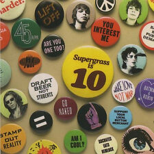SUPERGRASS - Supergrass Is 10: The Best of  94-04 - CD - NEUWARE