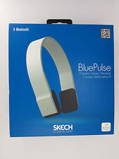 Skech BluePulse Bluetooth HandsFree Wireless Headphones for iPhone/Android WHITE