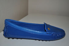 NEW Tory Burch Arianna Driving Loafer  Moccasins Flat Shoes Evening Sky Blue 9.5