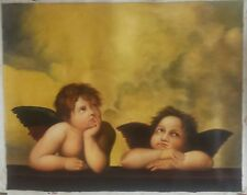 Raphael's Angels, Christian, Religious, Hand-Painted Oil Painting
