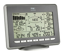 PROFESSIONAL WEATHER CENTER OPUS TFA 35.1112.IT WIRELESS WEATHER STATION SOLAR
