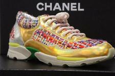 CHANEL SUPERMARKET RUNNING TRAINERS SNEAKERS SHOES 38/8 $1350