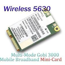 Unlocked DELL 5630 GOBI3000 HSPA+ QUALCOMM Wireless 3G GPS WWAN Module PCIe card