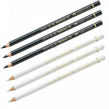Faber-Castell Polychromos Artists' Pencils - White & Black Multi (6 pcs)
