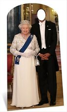 Queen Elizabeth II Standin Cardboard Cutout - have a Royal photo with the Queen!