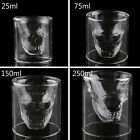50-250ML Cool Skull Head Shot Glass Fun Creative Designer Party Wine Cup 2Y