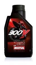 4 LITRI OLIO MOTORE MOTUL 300V 300V 10W40 10/40 100% SINTETICO MOTO