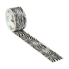 Zig-Zag Zebra Duck brand Duct Tape 1.88 inch x 10 yds