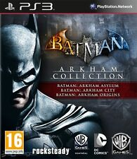 Batman Arkham Collection Ps3 (no disco, juego-digital)