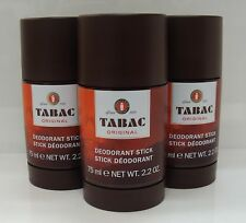 3 x Tabac Original Deodorant Stick For Men 75ml Multi-Buy