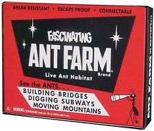 Fascinating Vintage Ant Farm by Uncle Milton Live Insect Bug Sand Habitat School