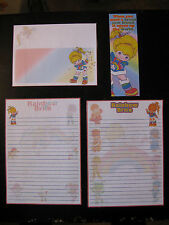 Rainbow Brite Stationary paper envelopes color kids Starlight Twink Whisp