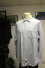 ZEGNA LIGHT BLUE XXL CHECK SHIRT