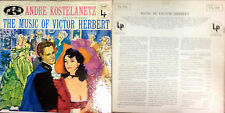 DISCO 33 GIRI - ANDRE KOSTELANETZ AND HIS ORCHESTRA – MUSIC OF VICTOR HERBERT