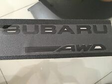 Black Decal Emblem Badge For all Subaru, Forester. BRZ..Impreza. WRX. STI. DIY