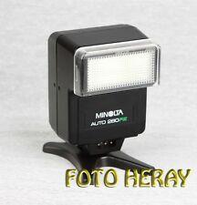 Minolta Auto 280PX Blitz guter Zustand 5953