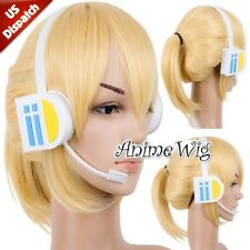 VOCALOID Brother Kagamine Len Fancy Cosplay Earphone Anime Headphone Accessories