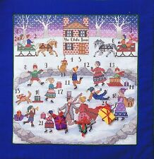 Advent Calendar Christmas Cross Stitch Chart Pattern By Anchor