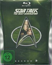 Star Trek Next Generation Season 3 Blu-Ray NEU OVP Sealed Deutsche Ausgabe