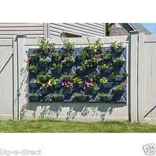PlantScape Large Hex Vertical Garden Wall Hanging Plant Flower Planter Pot Panel