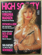 High Society ( D ) 2/1991, Virginia Madson, Marie Harper, Kirsten Imrie,