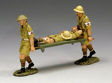 KING & COUNTRY EA028 WWII British Army Desert Stretcher Party - MIB