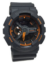 Casio GA110TS-1A4 G-Shock Orange Dark Grey  Men Watch NEW