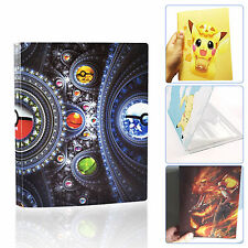 Useful Pokemon Cards Album Book List Holder Pikachu Collection Pokemon Xmas Gift