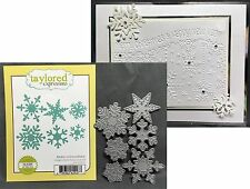 Christmas Die Set MAKE A SNOWFLAKE TE118 Taylored Expressions Dies Holidays Snow