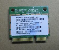 NEW For HP Broadcom BCM4313 BCM94313HMGB Wifi Bluetooth Combo Card 600370-001