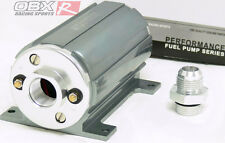 OBX Universal External Electrical Fuel Pump  2100HP EFI Polish 1000Lb Gray