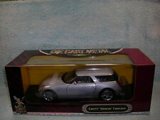 1/18 2003 CHEVY NOMAD WAGON CONCEPT IN SILVER METALLIC BY ROAD SIGNATURE..