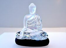 Swarovski Crystal Clear Buddha Signed Zen Gift 5064252 Brand New In Box