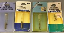 DREMEL 474 VERSATIP FINE CUTTING TIP   LOT OF 4 NOS