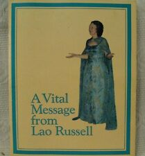 Vital Message from Lao Russell Swannanoa Waynesboro Virginia old vtg booklet