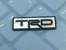 Fashion Sports TRD Logo Stainless Steering Wheel Badge Emblem Sticker for Camry
