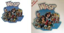 NEW! MINT! WASP THE REAL ME VINYL SHAPED PICTURE PIC DISC + BACKING CARD