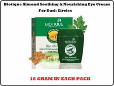 2PACK BIOTIQUE BIO ALMOND SOOTHING & NOURISHING UNDER EYE CREAM FOR DARK CIRCLES