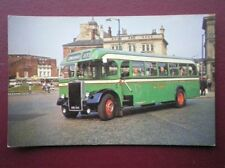 POSTCARD WEST RIDING AUTO COMP. BUS 733 - 1952 LEYLAND PS2/12A