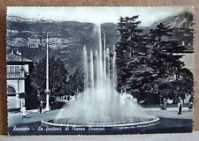 Rovereto - la fontana di Piazza Rosmini [grande, b/n, viaggiata]
