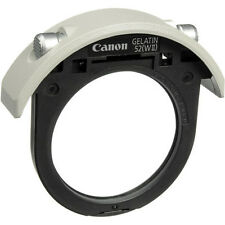 New Canon 52mm Drop-in Gelatin Filter Holder GELATIN 52 (WII) for 300mm 400mm UP