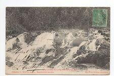 INDOCHINE carte vue des chutes du long rai au pays moï