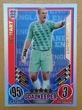 Match Attax England 2012 Topps Joe Hart limited edition card. Rare.