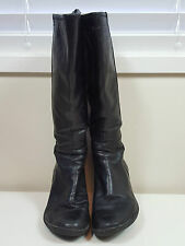 CAMPER sz 39 womens High Leather boots / shoes [#F91]