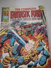 The Complete Fantastic Four Issue 7 UK Comic